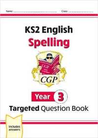 Ks2 English Targeted Question Book: Spel... by Cgp Books Cgp Books