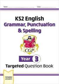 Link to an enlarged image of Ks2 English Targeted Question Book: Grammar, Punctuation & Spelling - Year 3 -- Paperback / softback