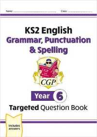 Link to an enlarged image of Ks2 English Targeted Question Book: Grammar, Punctuation & Spelling - Year 6 -- Paperback / softback