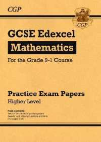Link to an enlarged image of Gcse Maths Edexcel Practice Papers: Higher - for the Grade 9-1 Course -- Paperback / softback