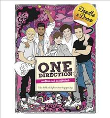 Link to an enlarged image of Doodle and Draw Heartthrobs: One Direction -- Paperback