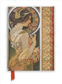 Link to an enlarged image of Mucha Cowslip and Documents Foiled Journal (Flame Tree Notebooks) (JOU)