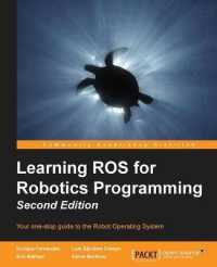Books Kinokuniya Learning Ros For Robotics Programming Your One
