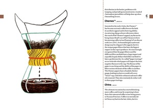 Link to an enlarged 2nd image of Coffee Dictionary : An A-z of coffee, from growing & roasting to brewing & tasting -- Hardback
