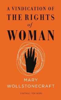 Link to an enlarged image of A Vindication of the Rights of Woman : Vintage Feminism (Vintage Classics) (Brief)
