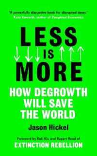 Link to an enlarged image of Less is More -- Paperback (English Language Edition)