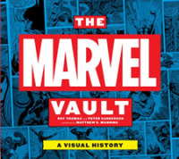 Link to an enlarged image of The Marvel Vault : A Visual History (PCK Updated)