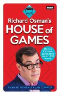 Link to an enlarged image of Richard Osman's House of Games : 101 new & classic games from the hit Bbc series -- Paperback / softback