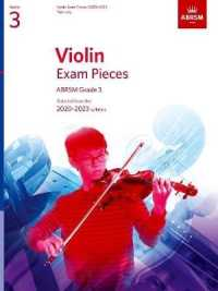 Link to an enlarged image of Violin Exam Pieces 2020-2023, Abrsm Grade 3, Part : Selected from the 2020-2023 syllabus (Abrsm Exam Pieces) -- Sheet music