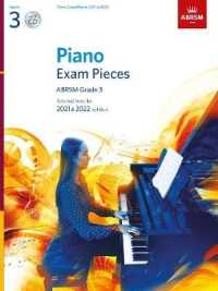 Link to an enlarged image of Piano Exam Pieces 2021 & 2022, Abrsm Grade 3, with Cd : Selected from the 2021 & 2022 syllabus (Abrsm Exam Pieces) -- Sheet music