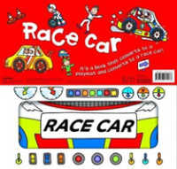 Link to an enlarged image of Convertible: Race Car -- Paperback / softback