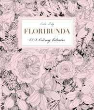 Books Kinokuniya Floribunda A Flower Colouring Book Paperback