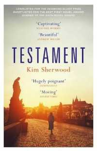 Link to an enlarged image of Testament : Shortlisted for Sunday Times Young Writer of the Year Award -- Paperback / softback