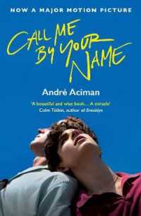 Link to an enlarged image of Call Me by Your Name (Film tie-in)