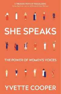 She Speaks The Power of Women's Voices 9781786499929