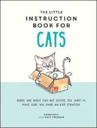 The Little Instruction Book for Cats (Re... by Dannyboy Freeman, Kate