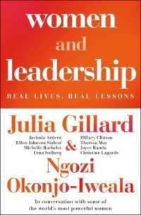 Link to an enlarged image of Women and Leadership : Conversations with some of the world's most powerful women -- Paperback / softback