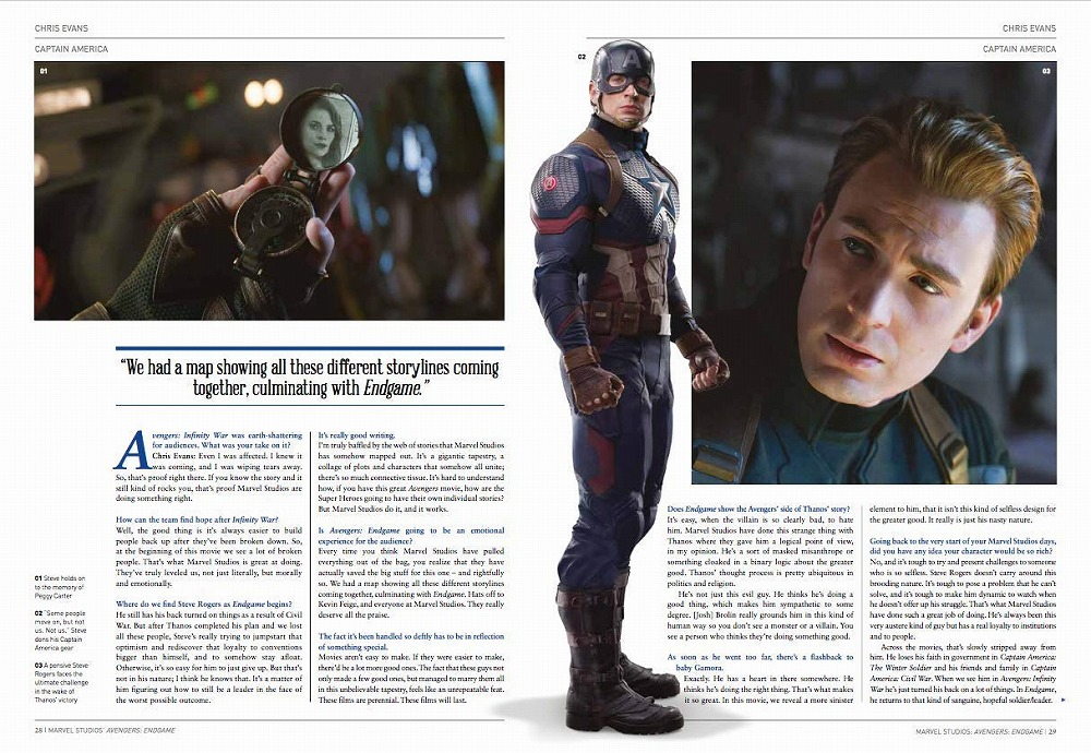 Link to an enlarged 4th image of Avengers : Endgame: the Official Movie Special (Avengers) (Media Tie In)