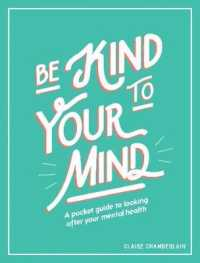 Link to an enlarged image of Be Kind to Your Mind : A Pocket Guide to Looking after Your Mental Health (POC)