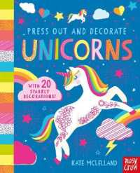 Link to an enlarged image of Press Out and Decorate: Unicorns (Press Out and Colour) -- Board book