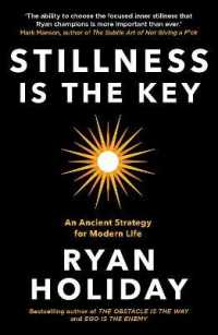 Link to an enlarged image of Stillness is the Key : An Ancient Strategy for Modern Life -- Paperback / softback (Main)