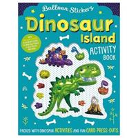Balloon Sticker Activity Books: Dinosaur Island 9781788437103