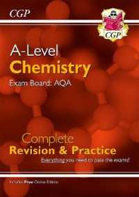 Link to an enlarged image of New A-level Chemistry: Aqa Year 1 & 2 Complete Revision & Practice with Online Edition -- Paperback / softback