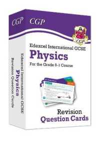 Link to an enlarged image of New Grade 9-1 Edexcel International Gcse Physics: Revision Question Cards -- Mixed media product