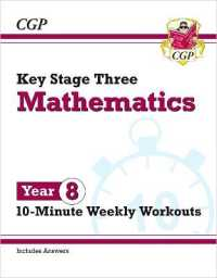 Link to an enlarged image of New Ks3 Maths 10-minute Weekly Workouts - Year 8 -- Paperback / softback
