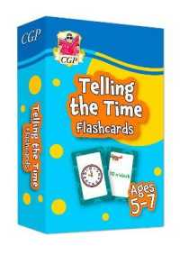 Link to an enlarged image of New Telling the Time Flashcards for Ages 5-7: perfect for home learning -- Mixed media product