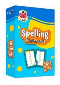 Link to an enlarged image of New Spelling Flashcards for Ages 5-7: perfect for home learning -- Paperback / softback