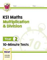 Link to an enlarged image of New Ks1 Maths 10-minute Tests: Multiplication & Division - Year 2 -- Paperback / softback