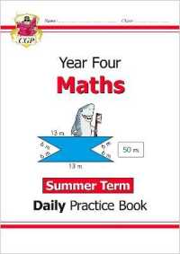 Link to an enlarged image of New Ks2 Maths Daily Practice Book: Year 4 - Summer Term -- Paperback / softback
