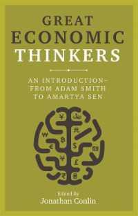 Great Economic Thinkers 9781789142105