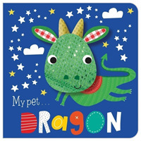 Link to an enlarged image of Dragon? -- Board book