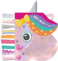 Link to an enlarged image of Little Unicorn's Magical Mane -- Board book