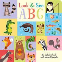 Link to an enlarged image of Look & See Abc (Animal Friends Concept Board Books) -- Board book