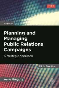 Link to an enlarged image of Planning and Managing Public Relations Campaigns : A Strategic Approach (5th)