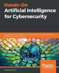 Link to an enlarged image of Hands-On Artificial Intelligence for Cybersecurity