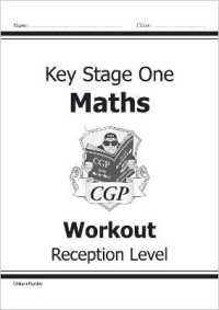 Link to an enlarged image of Reception Maths Workout -- Paperback