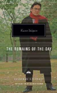 Link to an enlarged image of Remains of the Day -- Hardback