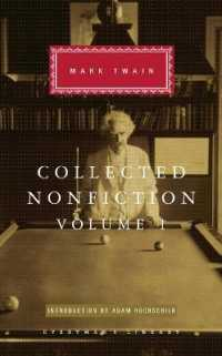Link to an enlarged image of Collected Nonfiction Volume 1 : Selections from the Autobiography, Letters, Essays, and Speeches -- Hardback