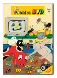 Link to an enlarged image of Jolly Phonics Dvd : in Precursive Letters (British English edition) -- Digital