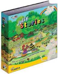Link to an enlarged image of Jolly Stories : In Precursive Letters (British English edition) -- Hardback (UK ed.)