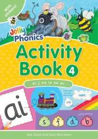 Link to an enlarged image of Jolly Phonics Activity Book 4 : In Precursive Letters (British English edition) (Jolly Phonics: Activity Book) -- Paperback / softback (UK ed.)