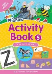 Link to an enlarged image of Jolly Phonics Activity Book 5 : In Precursive Letters (British English edition) (Jolly Phonics: Activity Book) -- Paperback / softback (UK ed.)