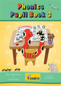 Link to an enlarged image of Jolly Phonics Pupil Book 3 : in Precursive Letters (British English edition) -- Paperback / softback (Colour edi)
