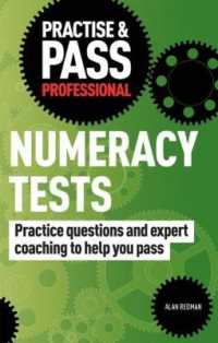 Link to an enlarged image of Practise & Pass Professional: Numeracy Tests (Practise & Pass Professional) -- Paperback / softback