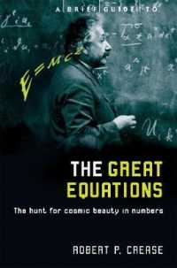 Link to an enlarged image of Brief Guide to the Great Equations : The Hunt for Cosmic Beauty in Numbers (Brief Histories) -- Paperback / softback