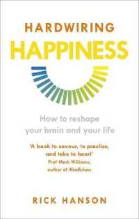 Link to an enlarged image of Hardwiring Happiness : How to reshape your brain and your life -- Paperback / softback